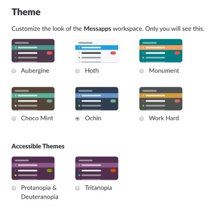 themes of slack