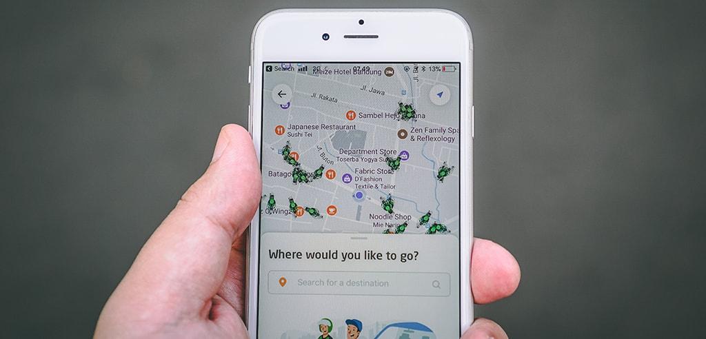 geotag in app
