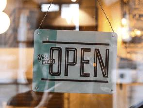 retail company door