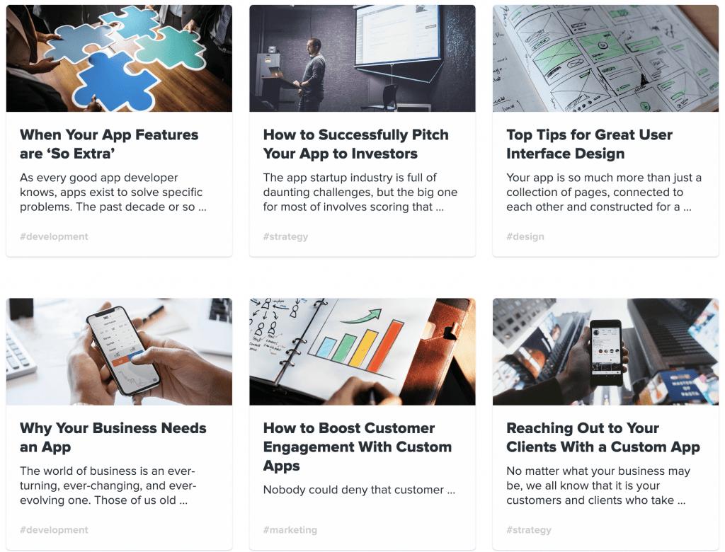 app business