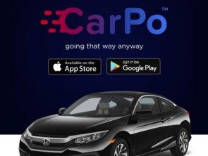CarPo app developed by Messapps