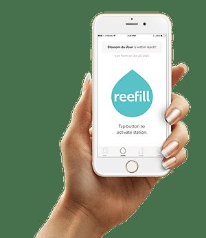 Reefill, apps built by Messapps