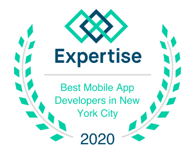 Badge for Best Mobile App Development in New York City by Expertise