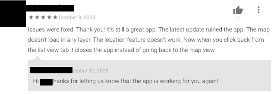 Good app review
