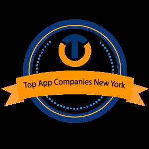 Top App Companies New York 2021-1-1 Badge