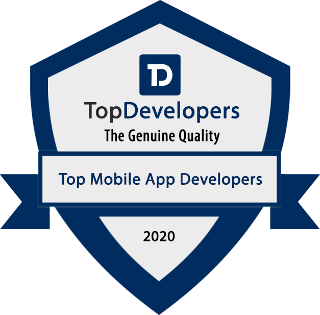 Top DEvelopers 2020 Award
